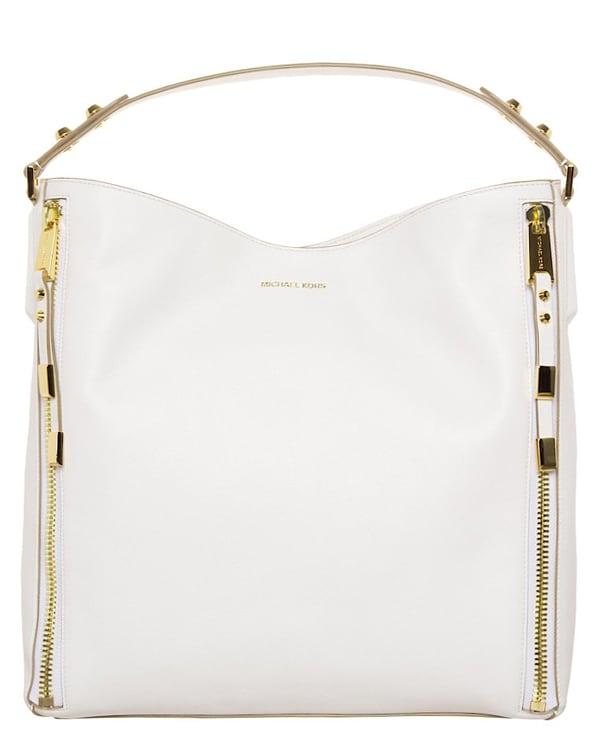 La borsa bianca di Michael Kors