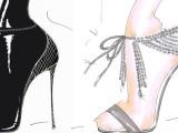 Olivia Palermo disegna le scarpe per Aquazzurra