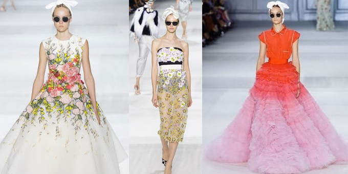GIAMBATTISTA VALLI Couture Paris Fall- Winter 2014- 15