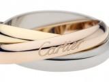 Anello Trinity de Cartier Oro bianco, oro giallo, oro rosa - 1360 euro
