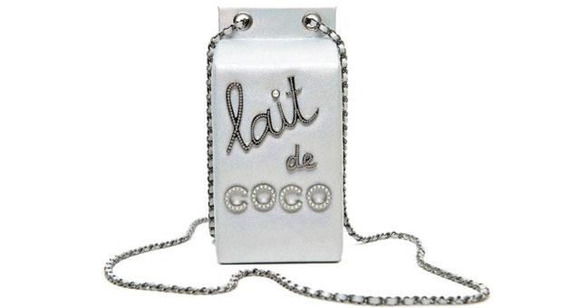 Chanel milk bag Lait de Coco