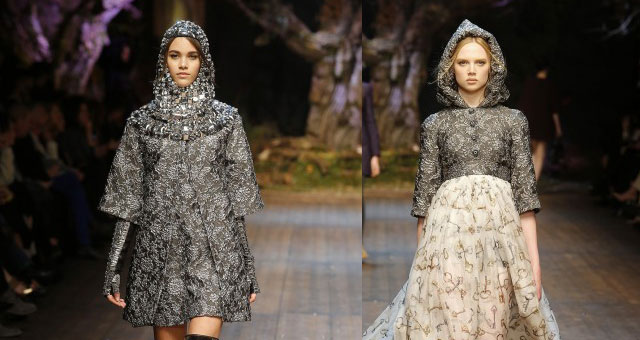 Dolce e Gabbana medieval style