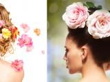 L'acconciatura piu' romantica? I fiori nei capelli!