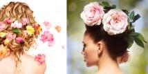 I fiori nei capelli!