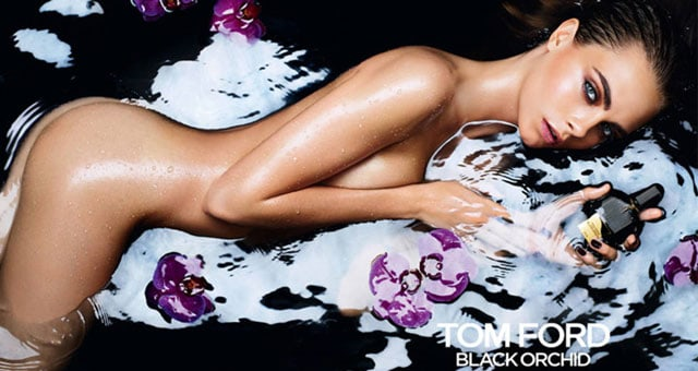 Cara Delevingne per Tom Ford Black Orchid