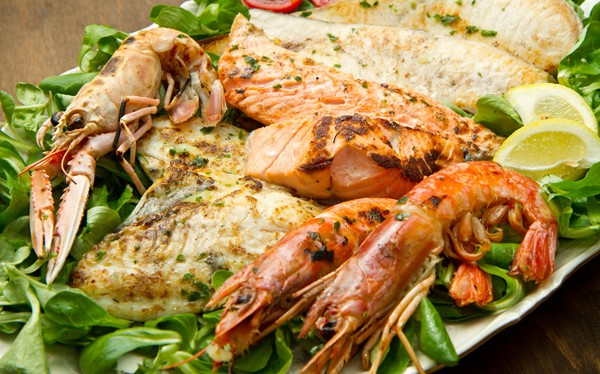 Mangiamo il pesce fresco