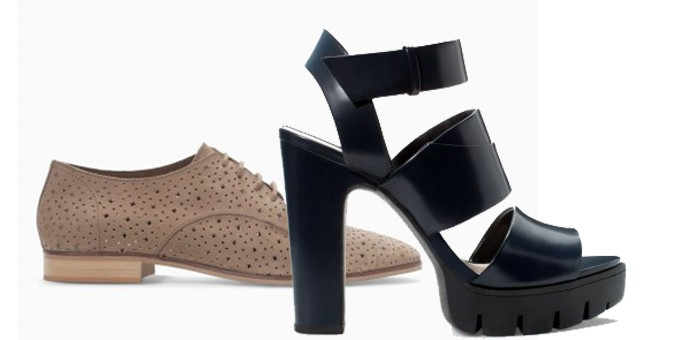 Le scarpe di Zara