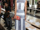 Lily Aldridge Tory_Burch_Spring_2015_Show