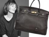 Jane Birkin ha messo all'asta una delle sue borse omonime di Hermes