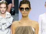 Le passerelle parlano chiaro, la tendenza per i capelli è : taglio corto o raccolti