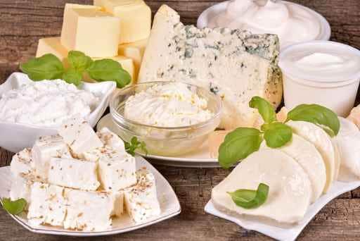 I formaggi ed il calcio