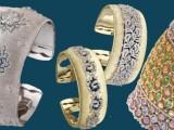 I Bracciali Cuff di Buccellati si illuminano con diamanti e rubini