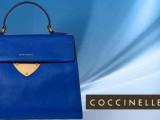 Dal celeste al blu navy, dal blu oceano al verde per le borse Coccinelle