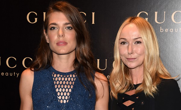 Charlotte Casiraghi al Party di Gucci