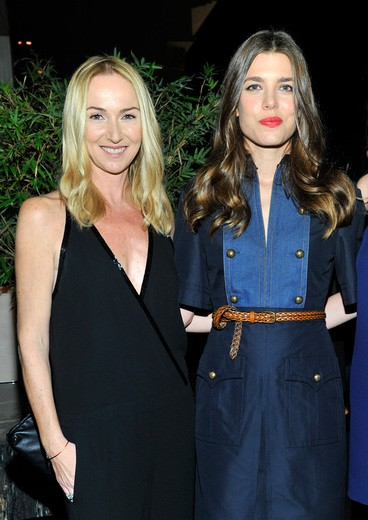 Charlotte Casiraghi e Frida Giannini a Beverly Hills