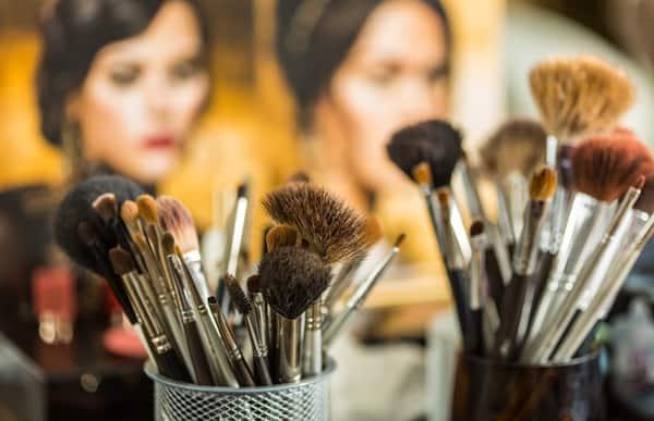 i pennelli da make-up