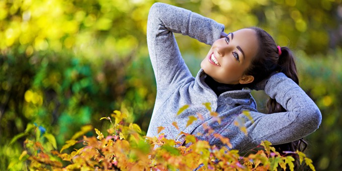 I capelli in autunno