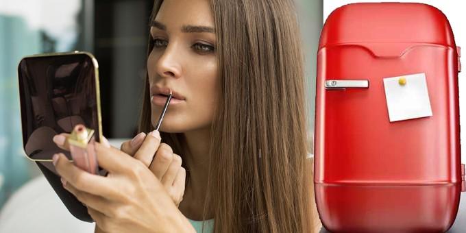 Il make up in frigorifero