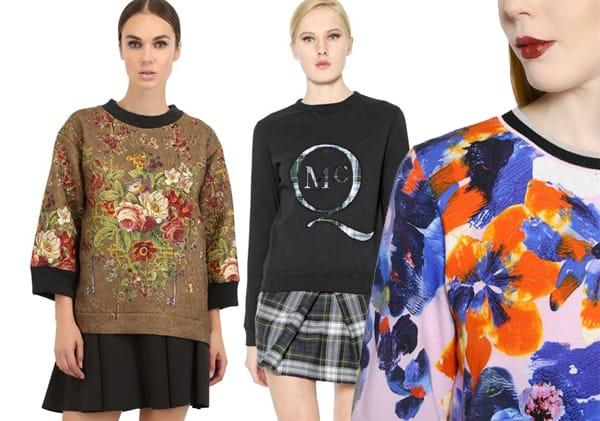 Inverno 2015: Felpa Couture,