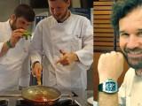 Gli orologi sono sempre piu' al polso dei grandi Chef