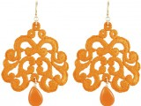 Tità Bijoux SS 2015 collection orange earrings