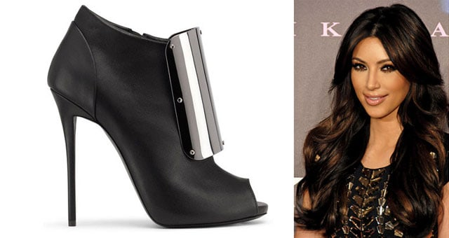 Zanotti shoes e Kim Kardashian
