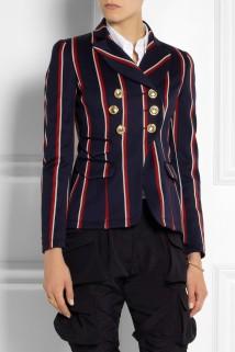 Altuzarra Seth striped wool and cotton-blend blazer €1,575