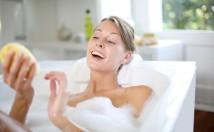 Benessere: bagno rilassante