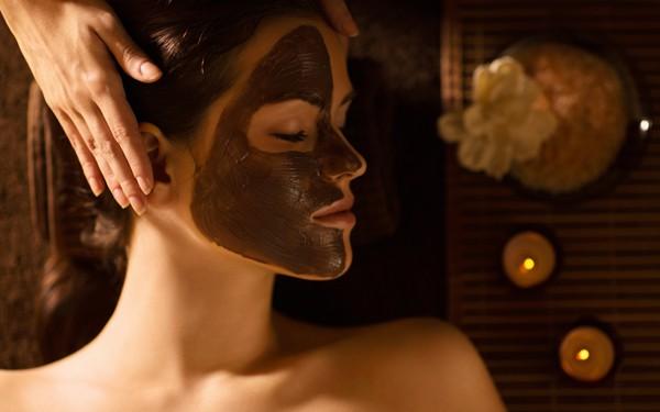 Maschere viso al cioccolato