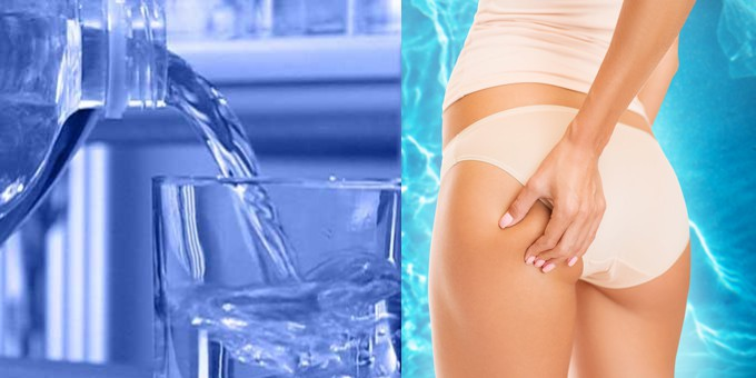 Bere tanta acqua - cellulite