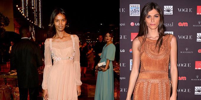 Elisa Sednaoui e Liya Kebede vestono Alberta Ferretti