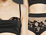 Lingerie o capo d'abbigliamento? in&out per Floral Mesh di La Perla