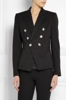 Versace Wool-blend jacquard blazer €1,680