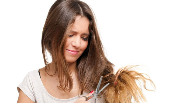 tagliare capelli non rinforza