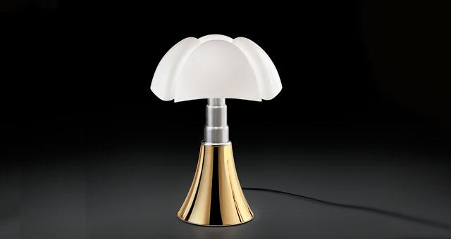 Lampada Pipistrello versione Gold (Martinelli Luce)