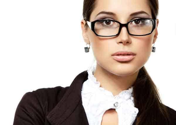 Truccarsi con gli occhiali
