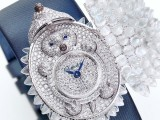 L'orologio 'à secret' di Chopard in diamanti