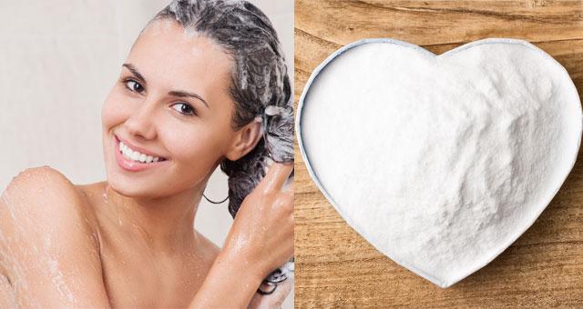 lavare i capelli con bicarbonato?