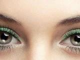L'eyeliner verde per cambiare sguardo