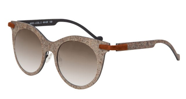 Catuma, occhiali in fibra di carbonio e pietra