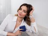 La super top-model Miranda Kerr interpreta i gioielli e gli orologi Swarovski