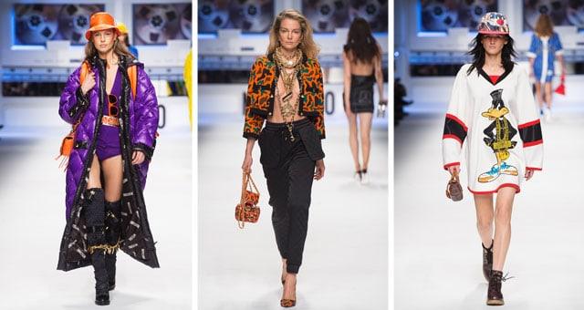 Moschino donna Milano Fashion Week febbraio 2015