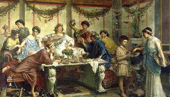 ricetta speciale dell'Antico Impero Romano