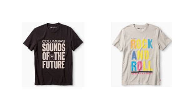 Levi's and Sony t-shirt sound of SF