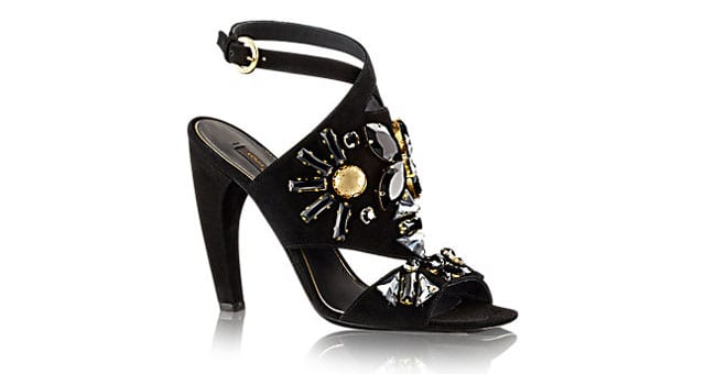 Louis Vuitton Artful Jewels Parure sandal