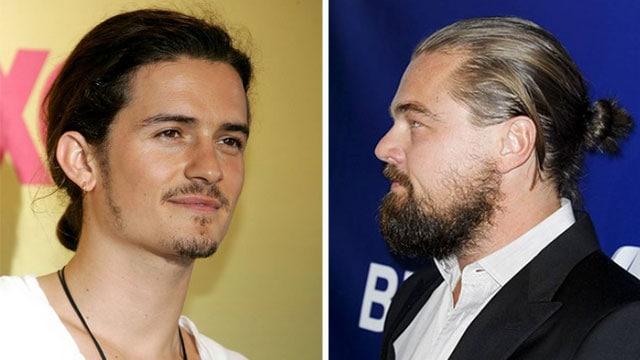 Orlando Bloom e Leonardo Di Caprio, torna la moda del codino
