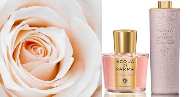 Aqua di Parma Rosa Nobile Leather Purse Spray