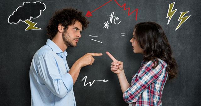 8 errori da evitare per non litigare in coppia