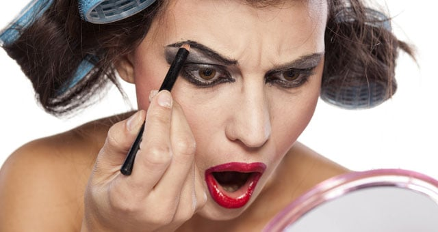 gli errori nel make up