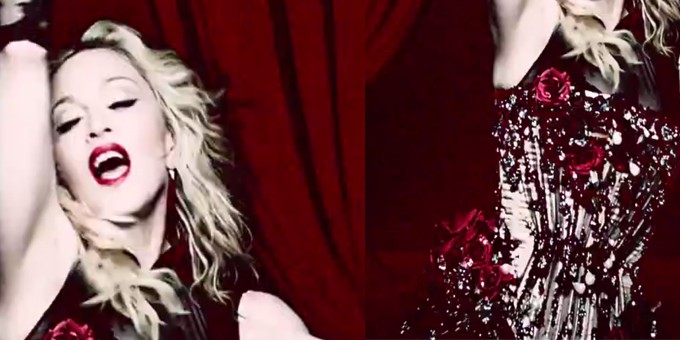 Madonna brilla con PRECIOSA nel video 'Living for Love'